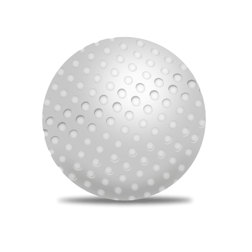 Transparent svg. Golf ball vector png