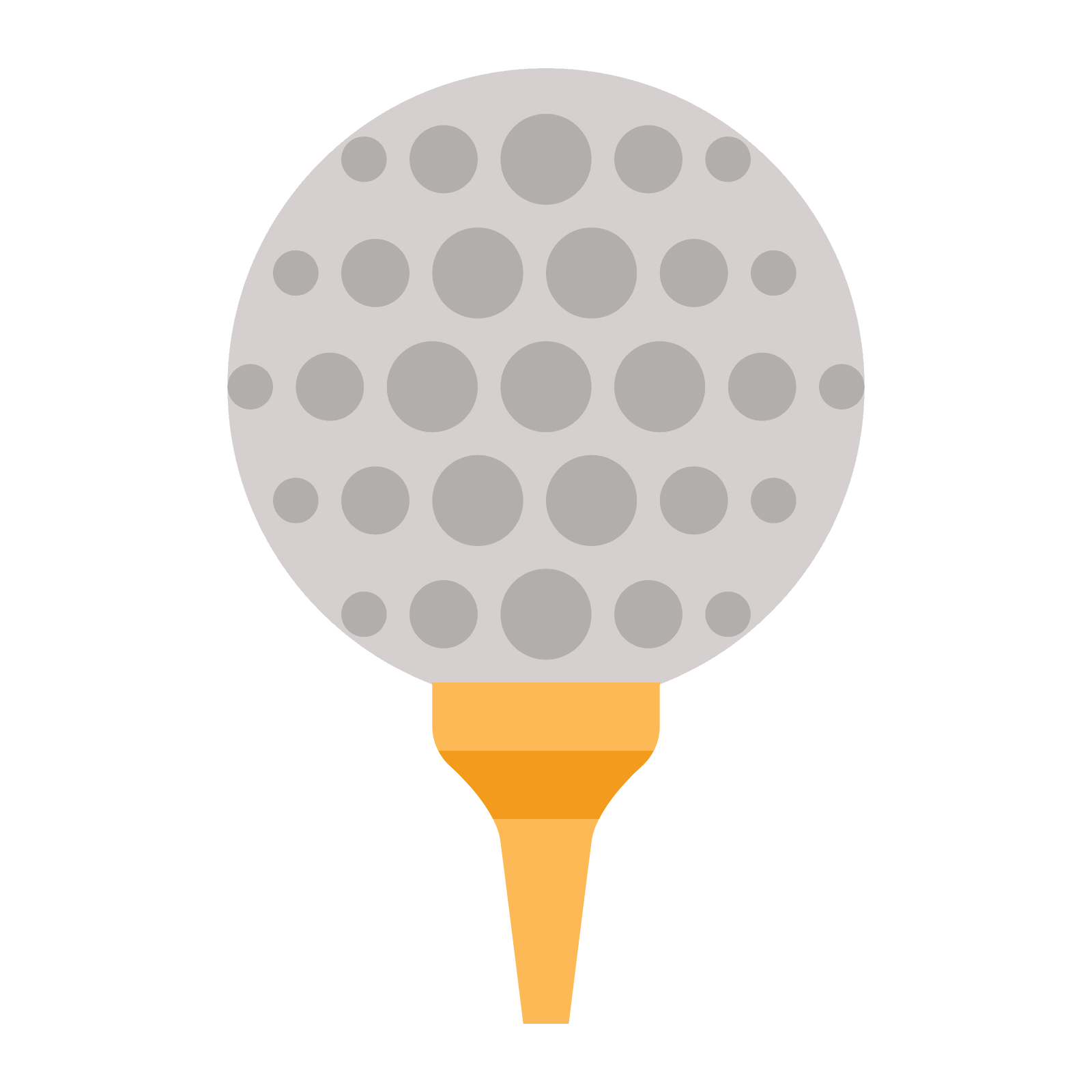 Golf ball vector png. Icon free download and