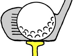 Golf clipart. Free clip art course