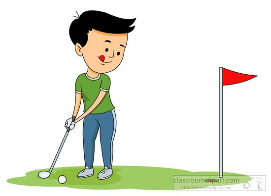 Sports free golf to. Golfer clipart