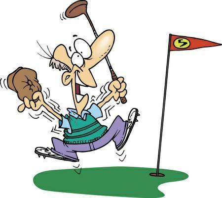 Golfer clipart. Golf free various clip