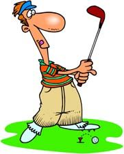 Funny clip art graphics. Golf clipart animated