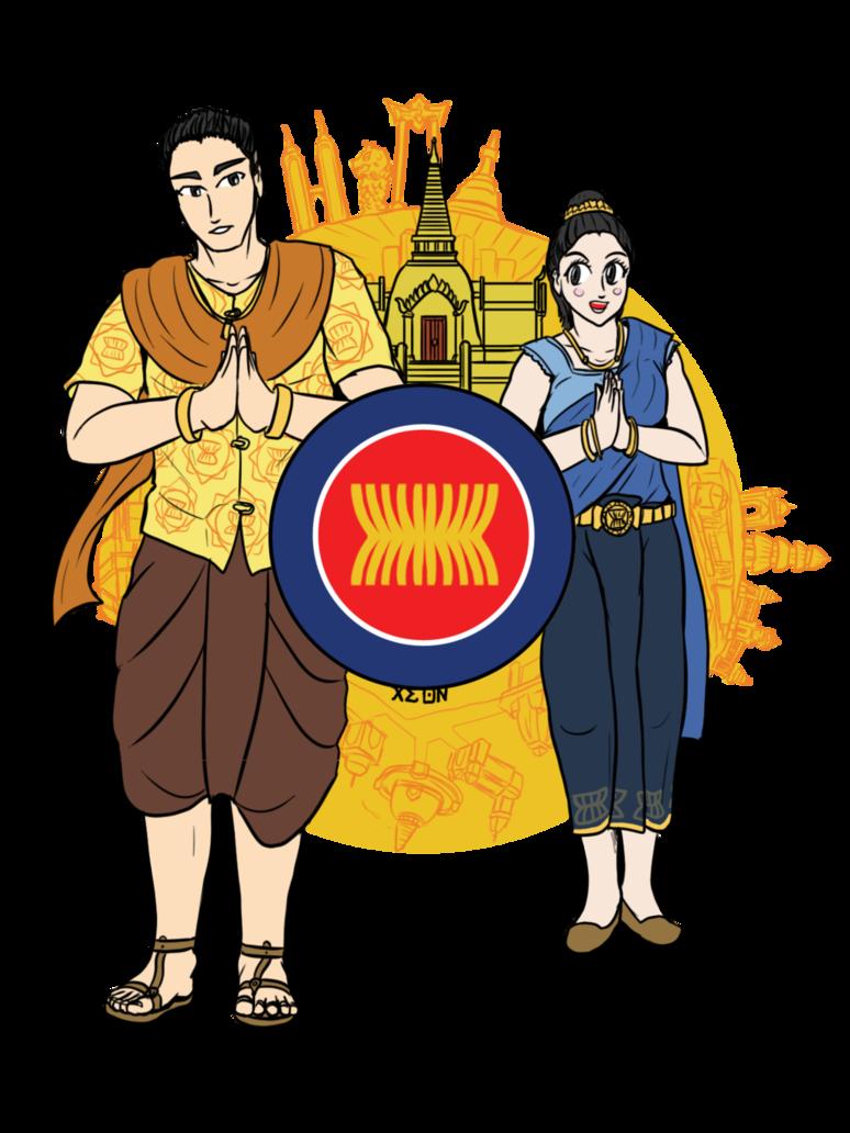 Warrior clipart traditional thai. The asean celebration siamese