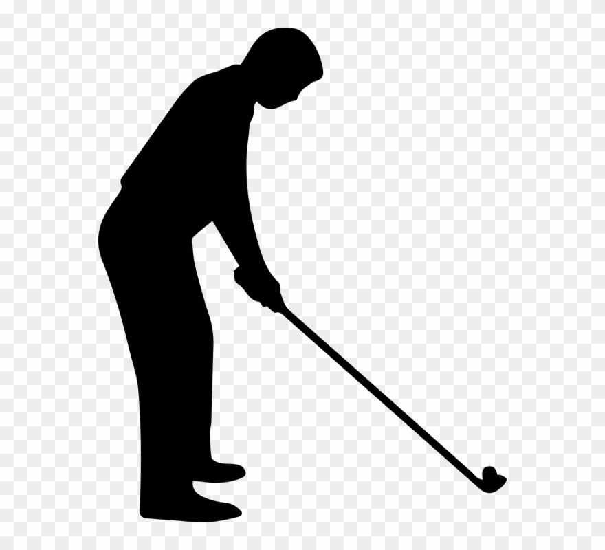 Black and white free. Golfing clipart golf tournament