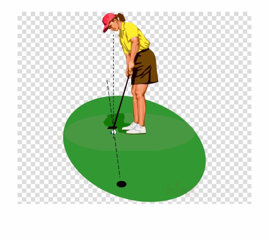 Woman golfer women golf. Golfing clipart clip art