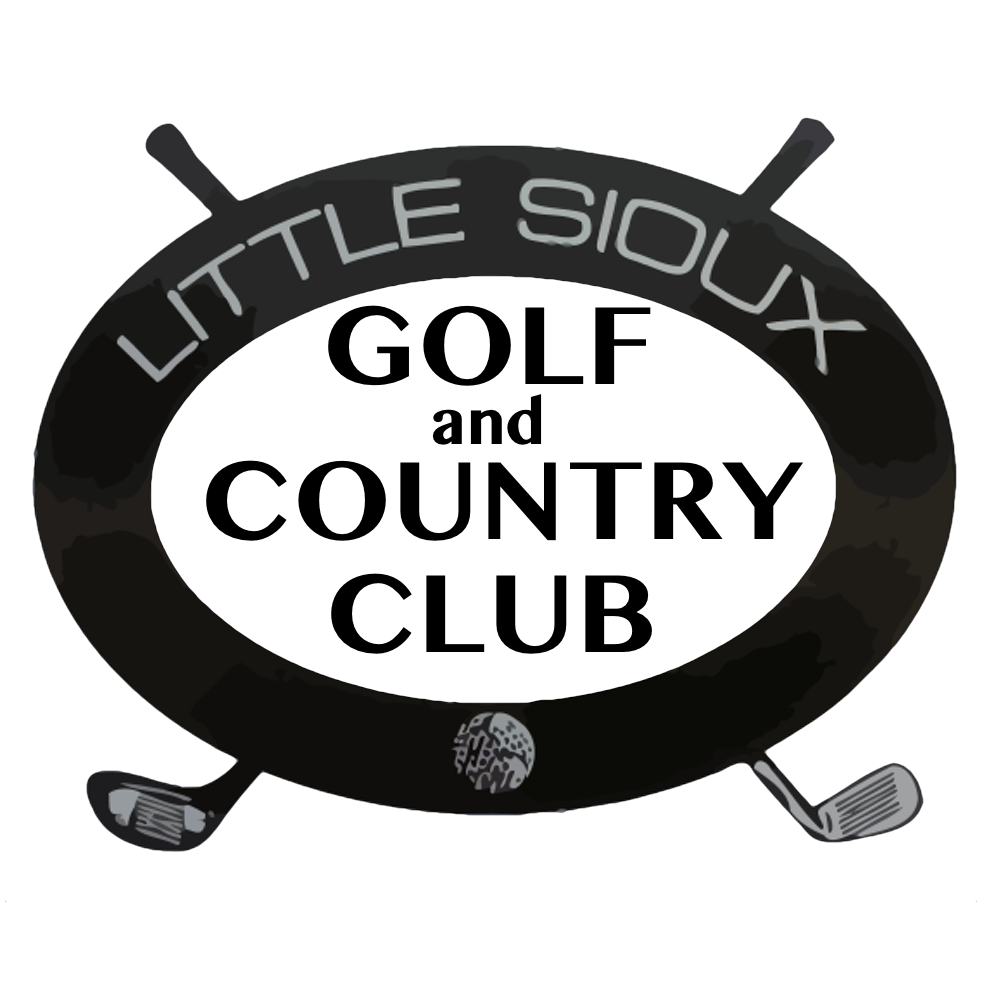 Home little sioux golf. Golfing clipart country club