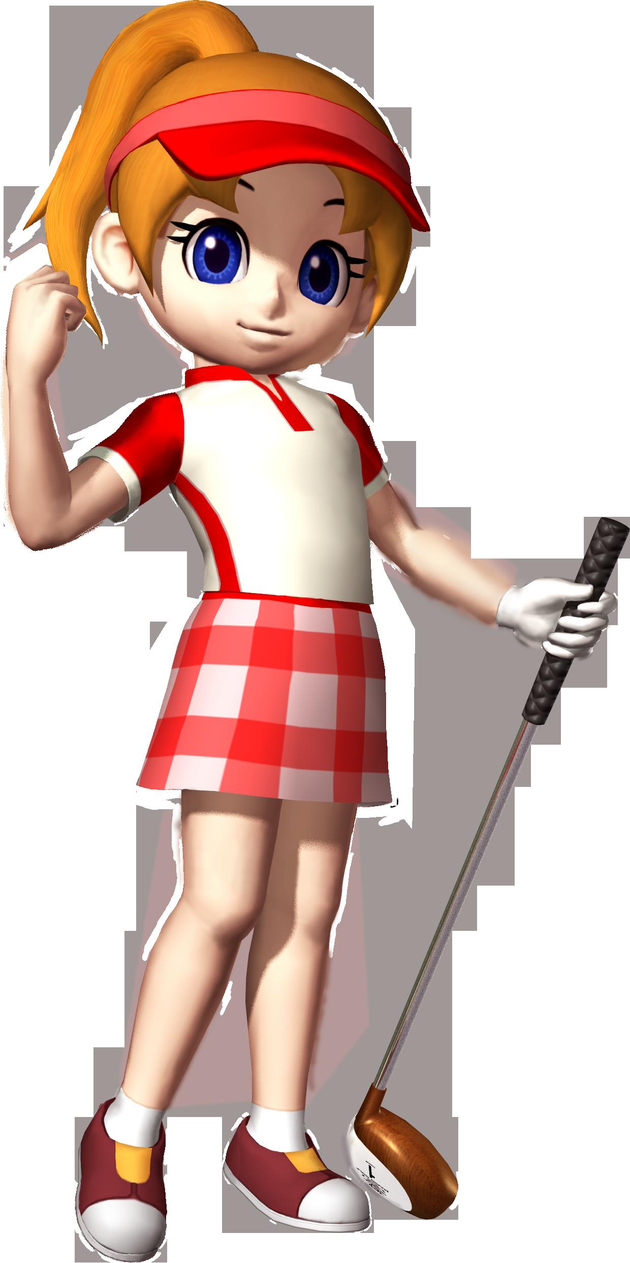 Golfer clipart doom. Ella nintendo fandom powered