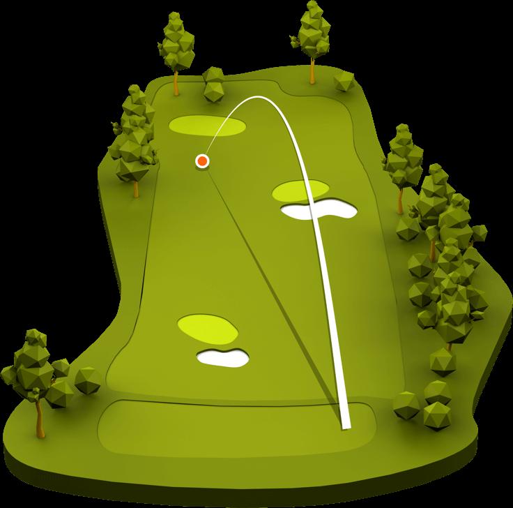 Golf clipart driving range. Trackman free
