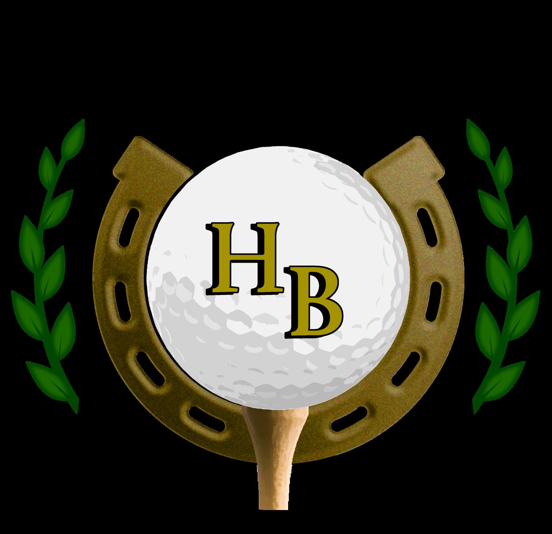 Golf clipart driving range. Horseshoe bend course