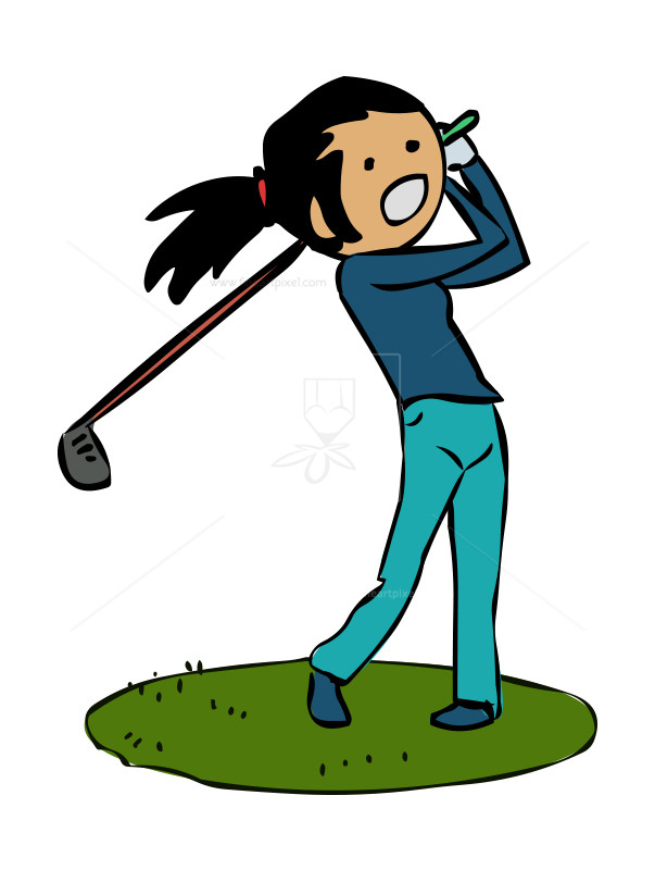 Image result for ladies golf clip art free   Golf clip art, Clip art, Free clip  art