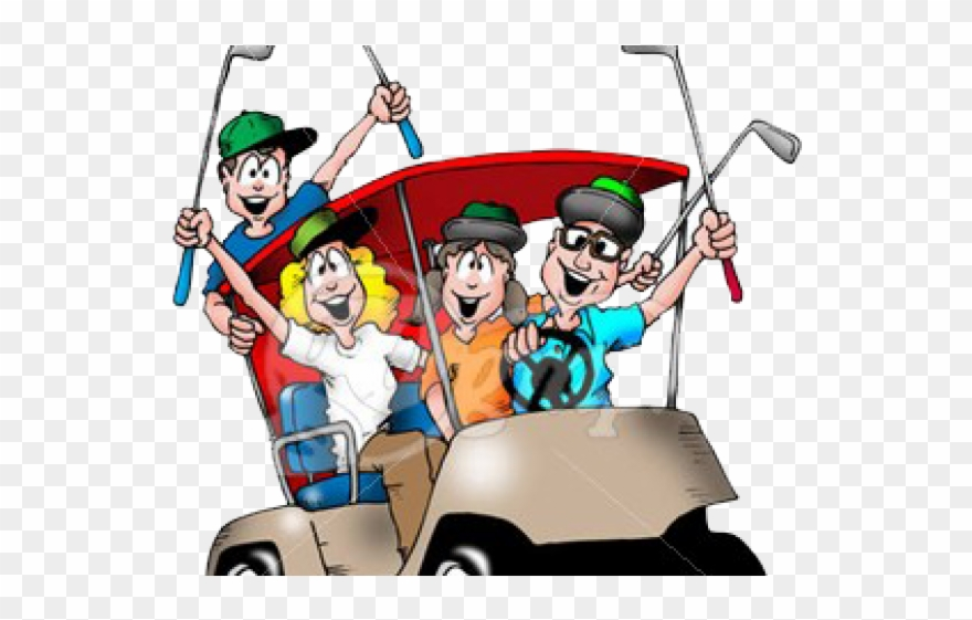 Golf clipart golf buggy. Team funny cart clip
