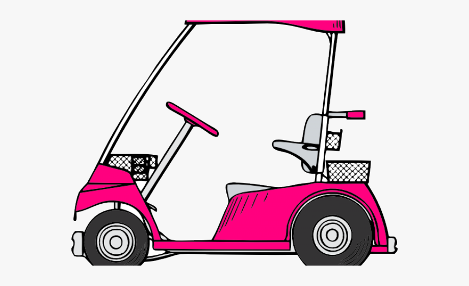 Golf clipart golf buggy. Cute cart free