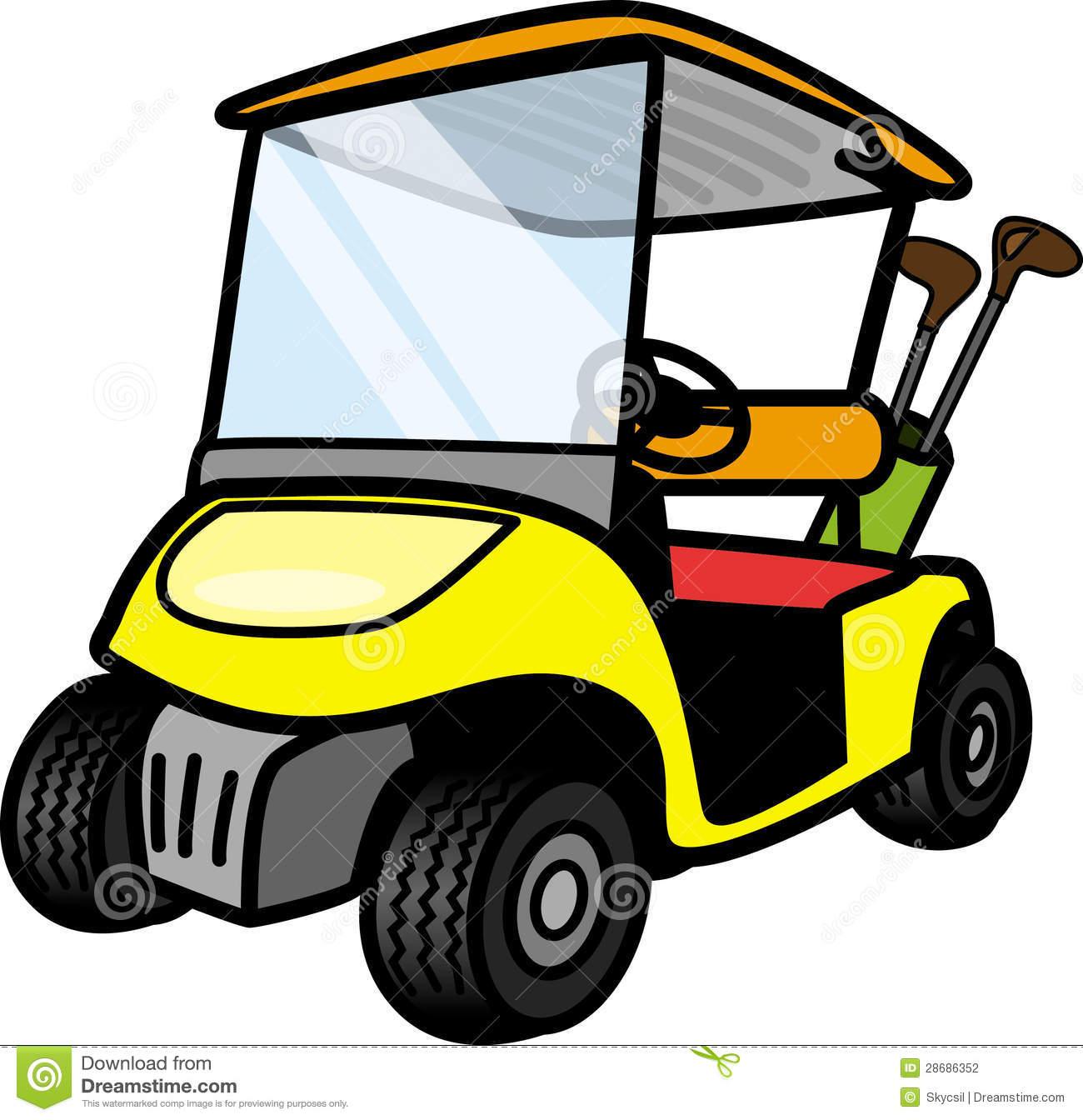 cart clip art. Golf clipart golf buggy