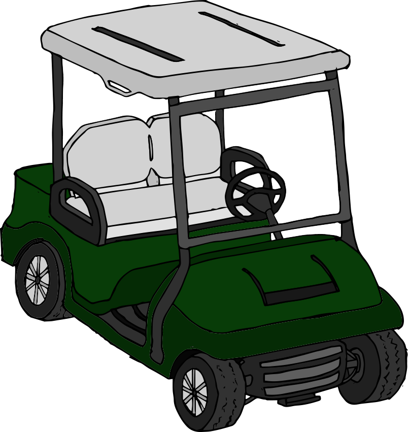 Golf clipart golf buggy. Club manager be the