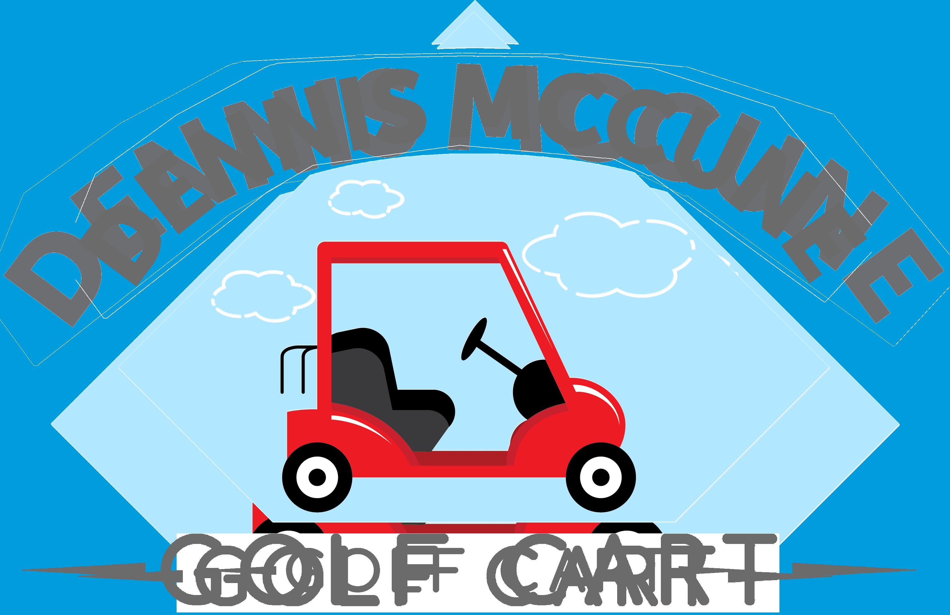 Dennis mccune florida cart. Golf clipart golf buggy