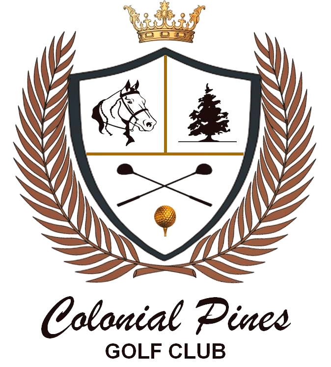 Golf clipart golf crest. Colonial pines club bethel