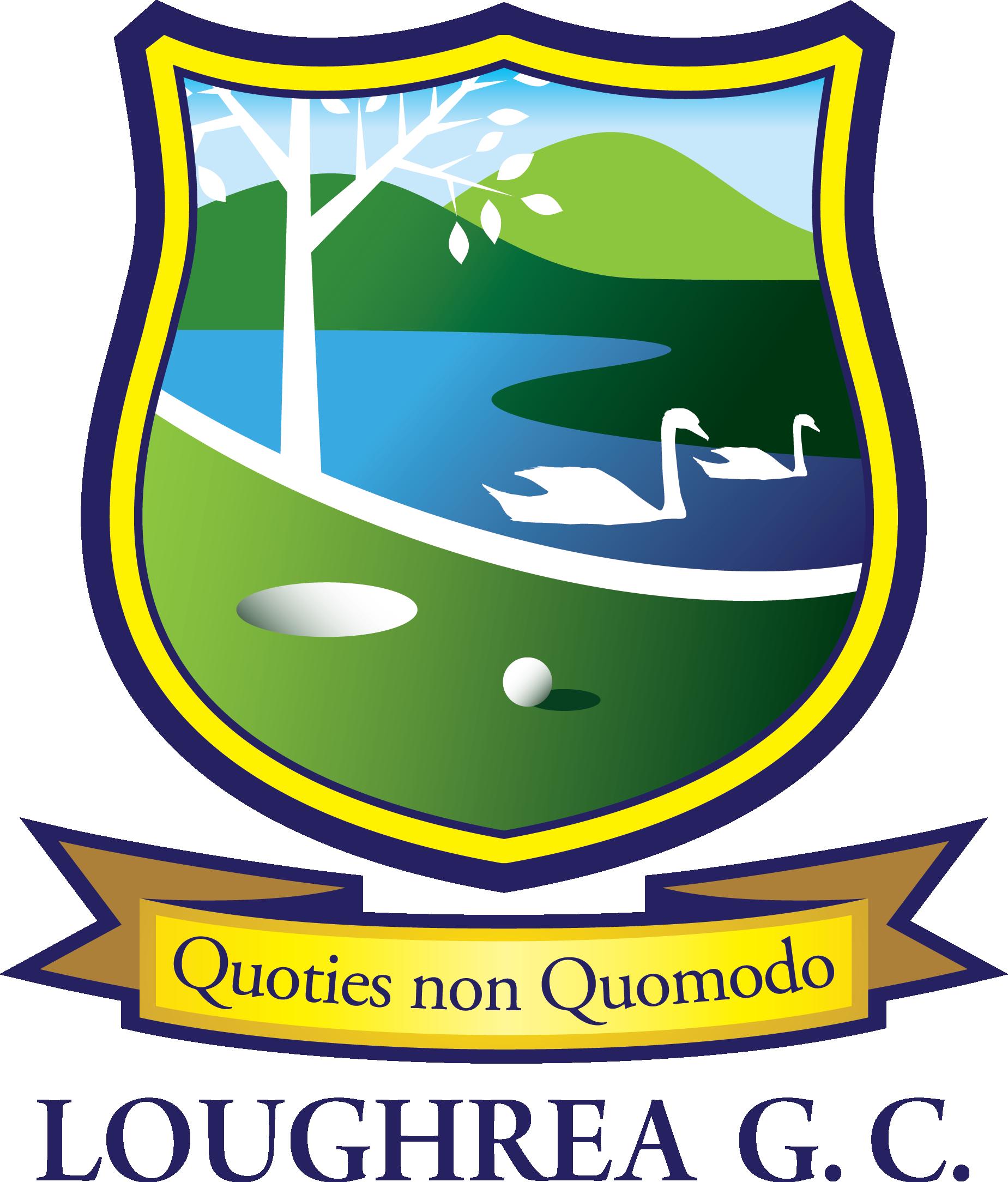 Loughrea club a hidden. Golf clipart golf crest