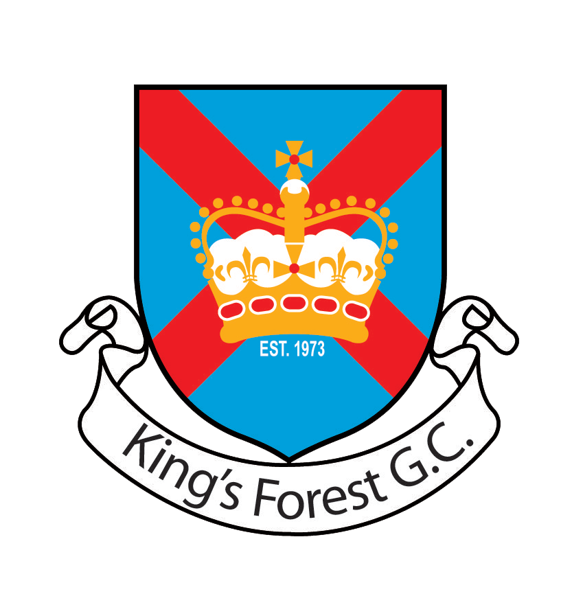 Golf clipart golf crest. King s forest club