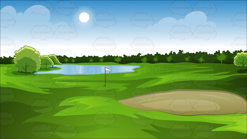 Golf clipart golf field. Free golfcourse cliparts download
