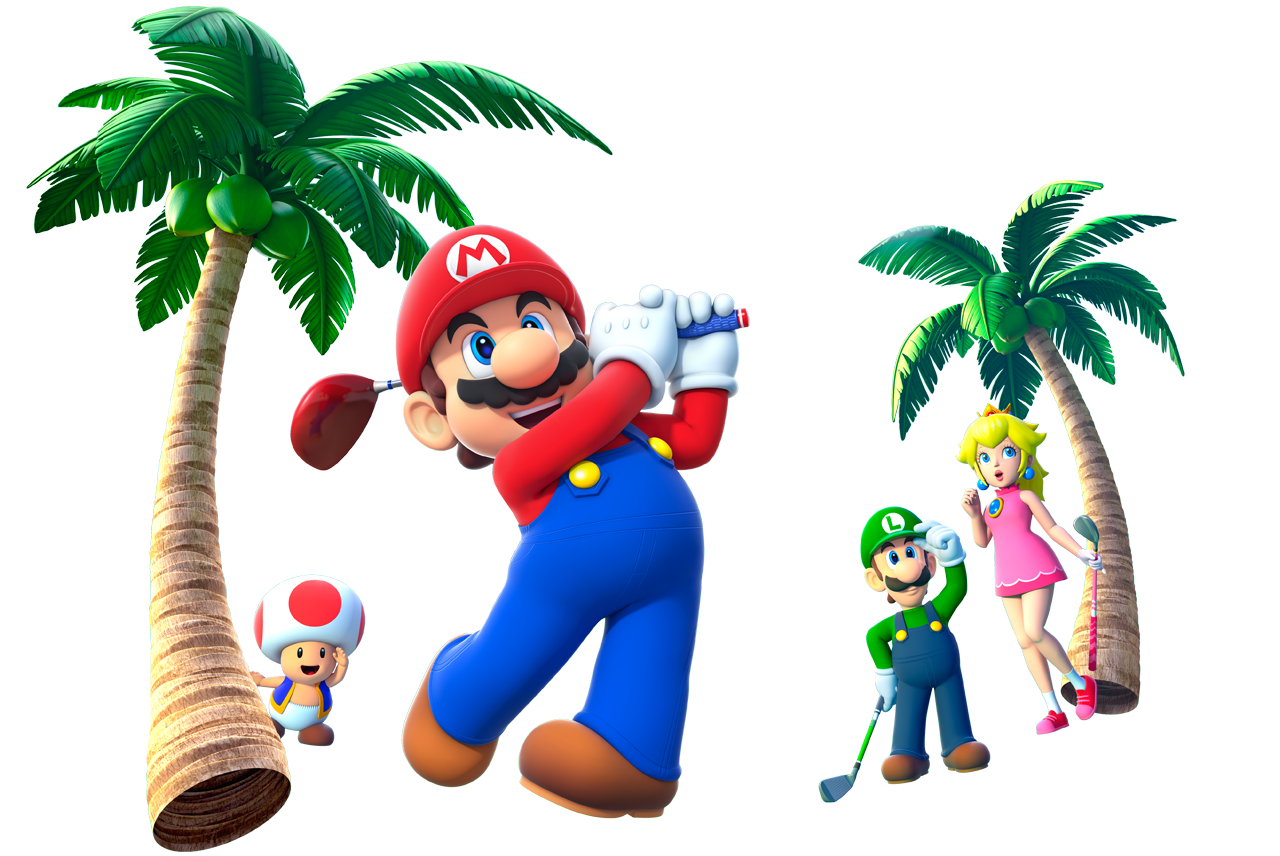 Golf clipart golf game. Official site mario world