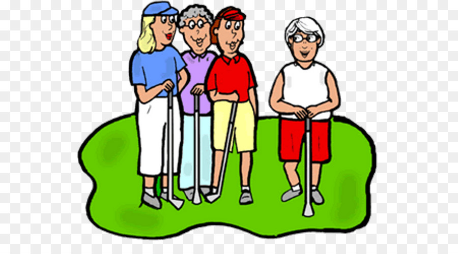 Of people background png. Golf clipart golf group