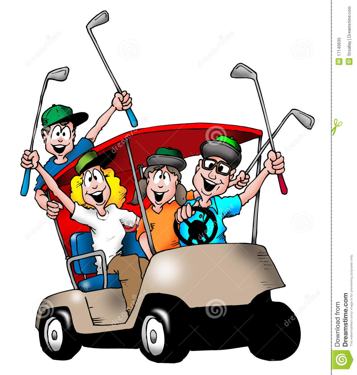 Golf clipart golf group. Free images