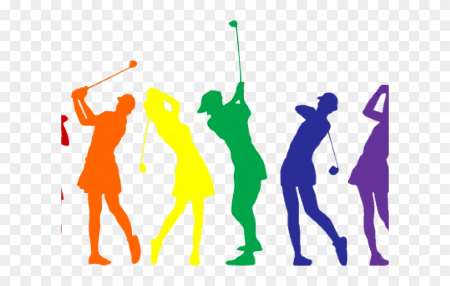 Ladies night logo png. Golf clipart golf group