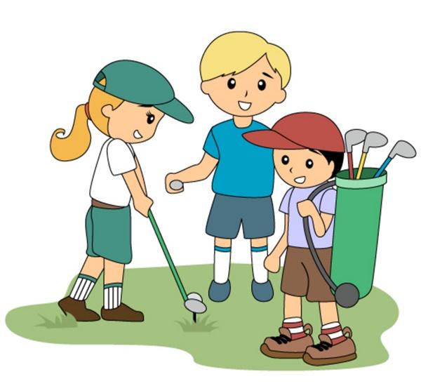 Golf clipart golf lesson. Junior york club