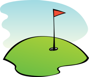 Golf clipart golf scene. Mini x free clip