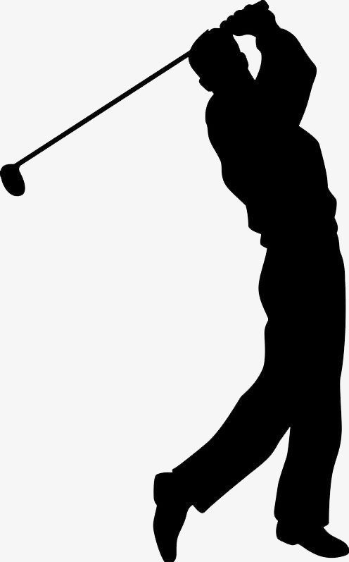 Golf clipart golf swing. Play png transp