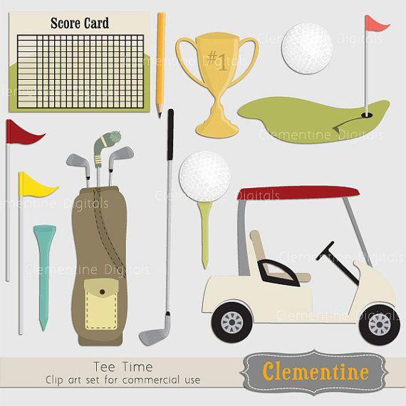 Clip art images trophy. Golf clipart golf theme