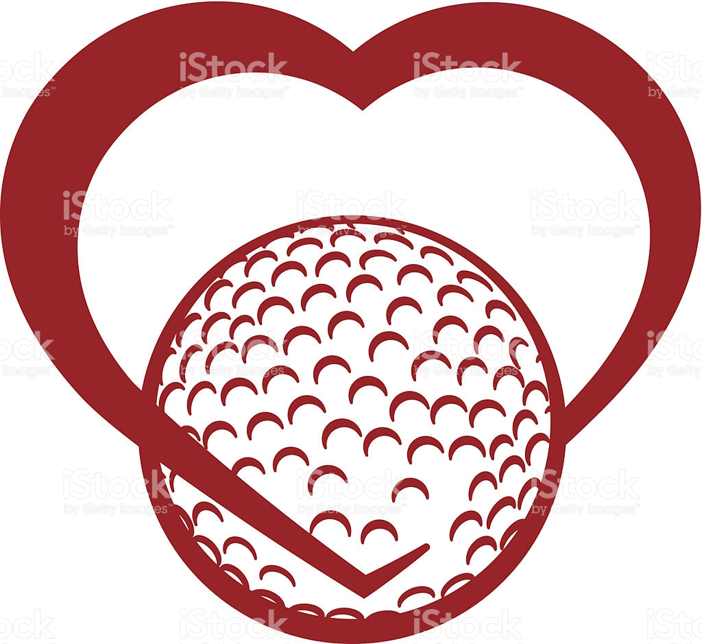 Free valentine cliparts download. Golf clipart heart