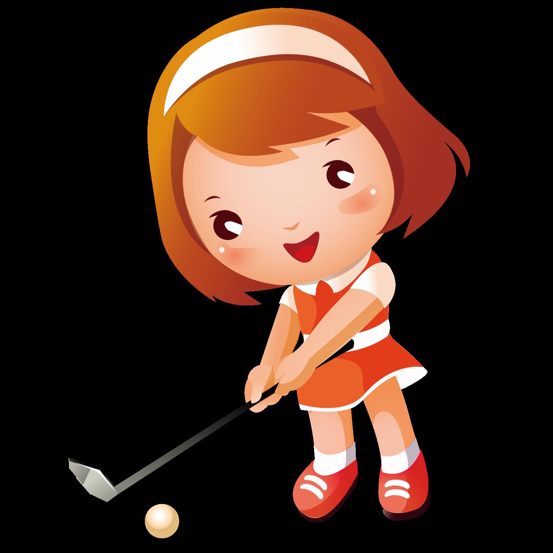 Golfer clipart baby. Golf girl clip art