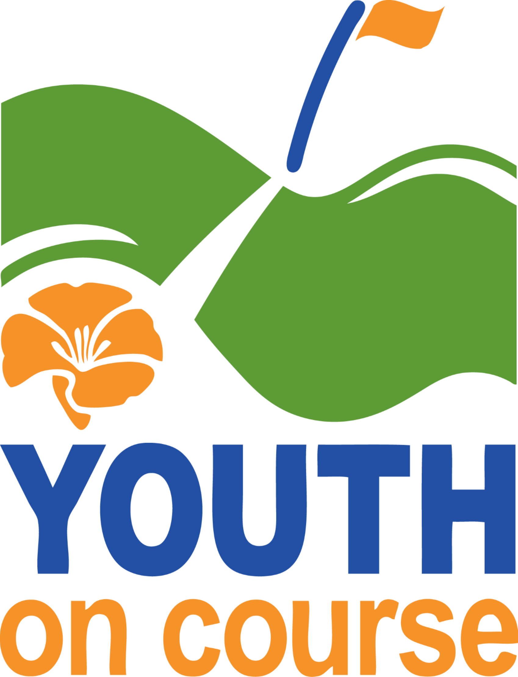 Youth on course y. Golf clipart junior golf