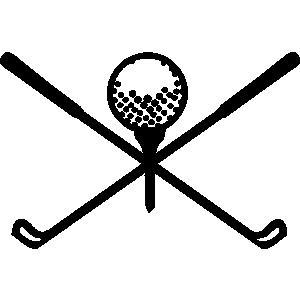 Golfer clipart logo. Free golf logos cliparts