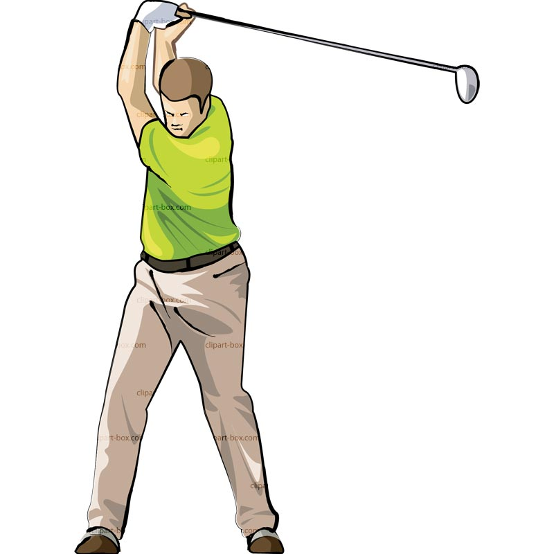 Golfing clipart guy. Free man golfer cliparts