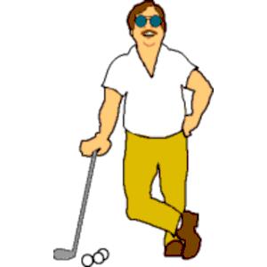 Mens golf cliparts zone. Golfing clipart men's