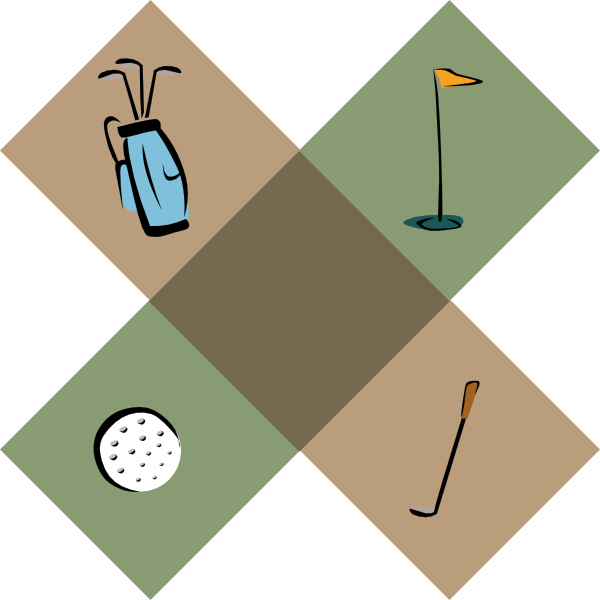 Golf clipart page border. Borders panda free images