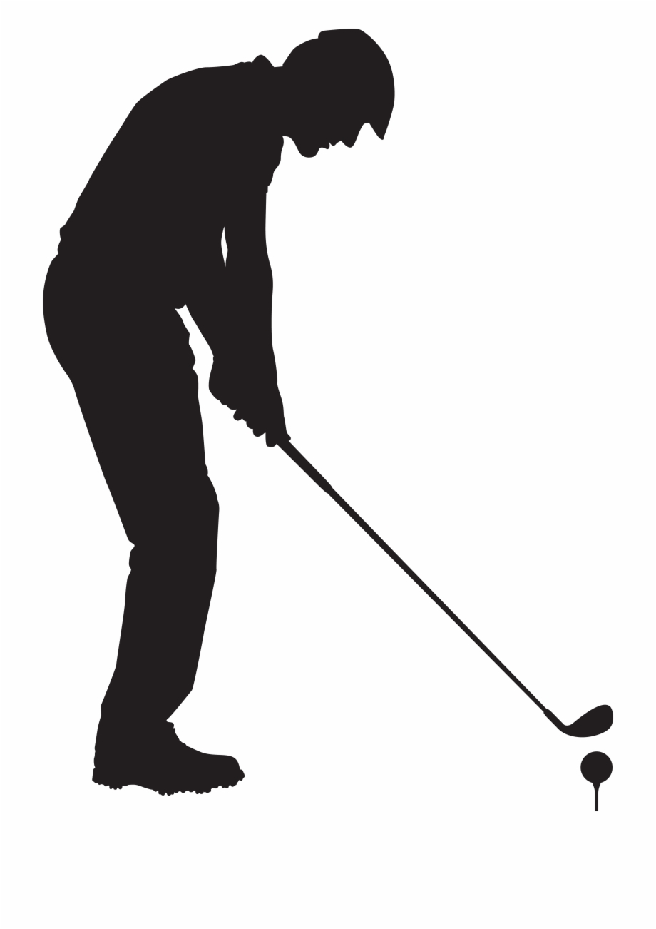 Drawing man png clip. Golfing clipart golf scene