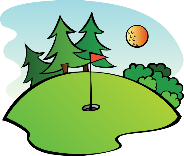 Golfing clipart retired man. Free cartoon golf clip