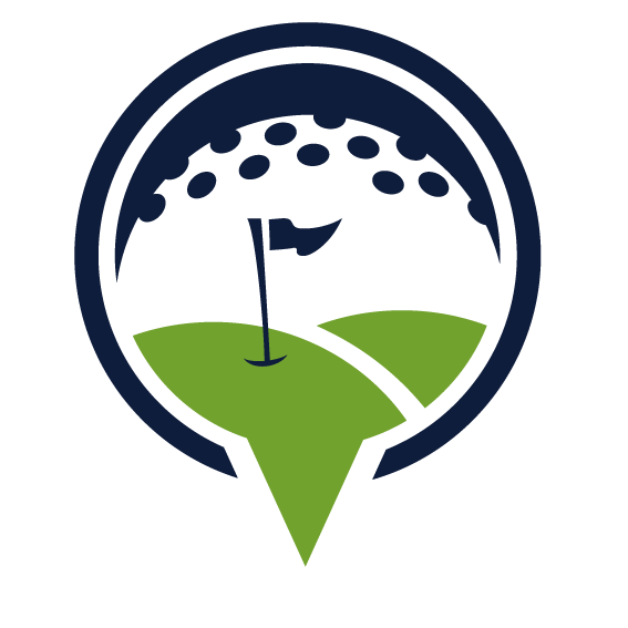 Golf clipart putting green. Course logo royal greens