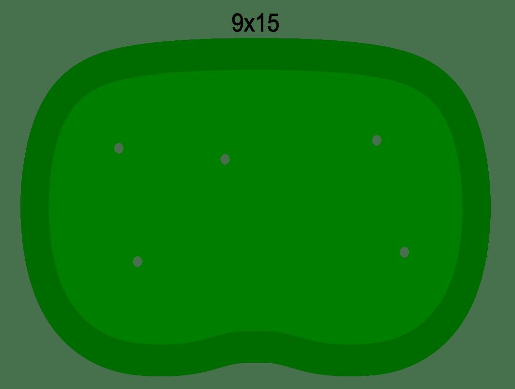 Golf clipart putting green.  x ft wide
