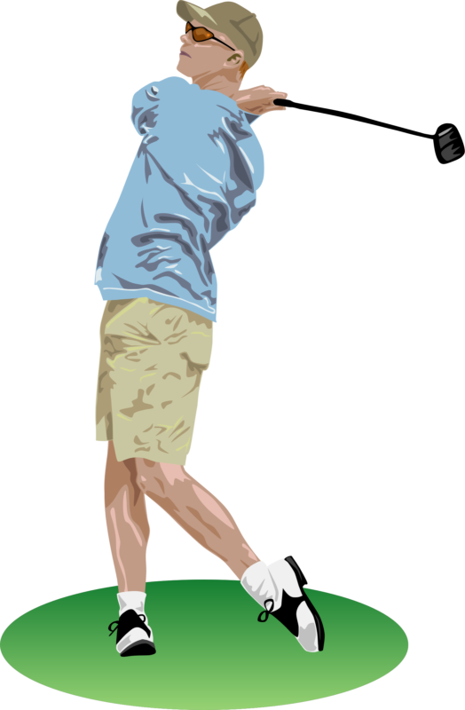 Golfer clipart summer. Golf photos free black