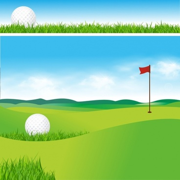 Free golf images download. Golfer clipart vector