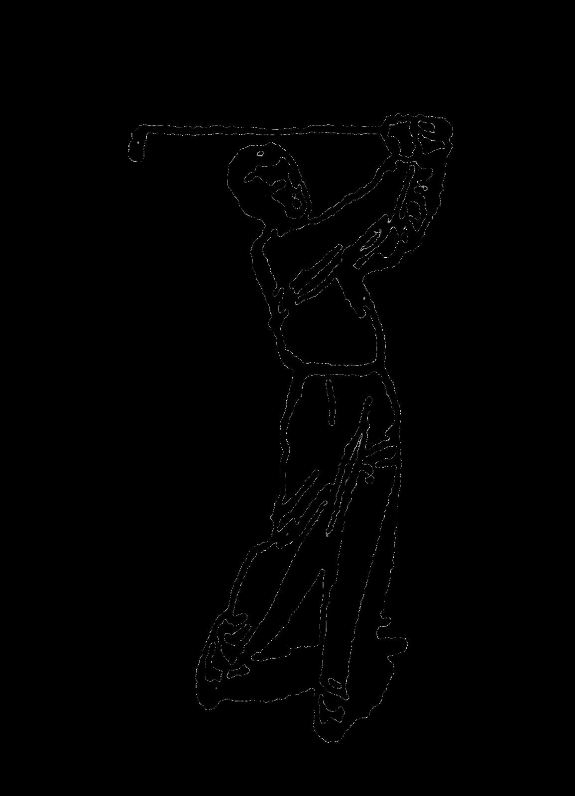 Golfing clipart golf theme. Digital stamp design vintage