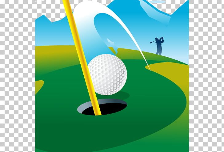 Golfing clipart hole in one. Golf course putter png