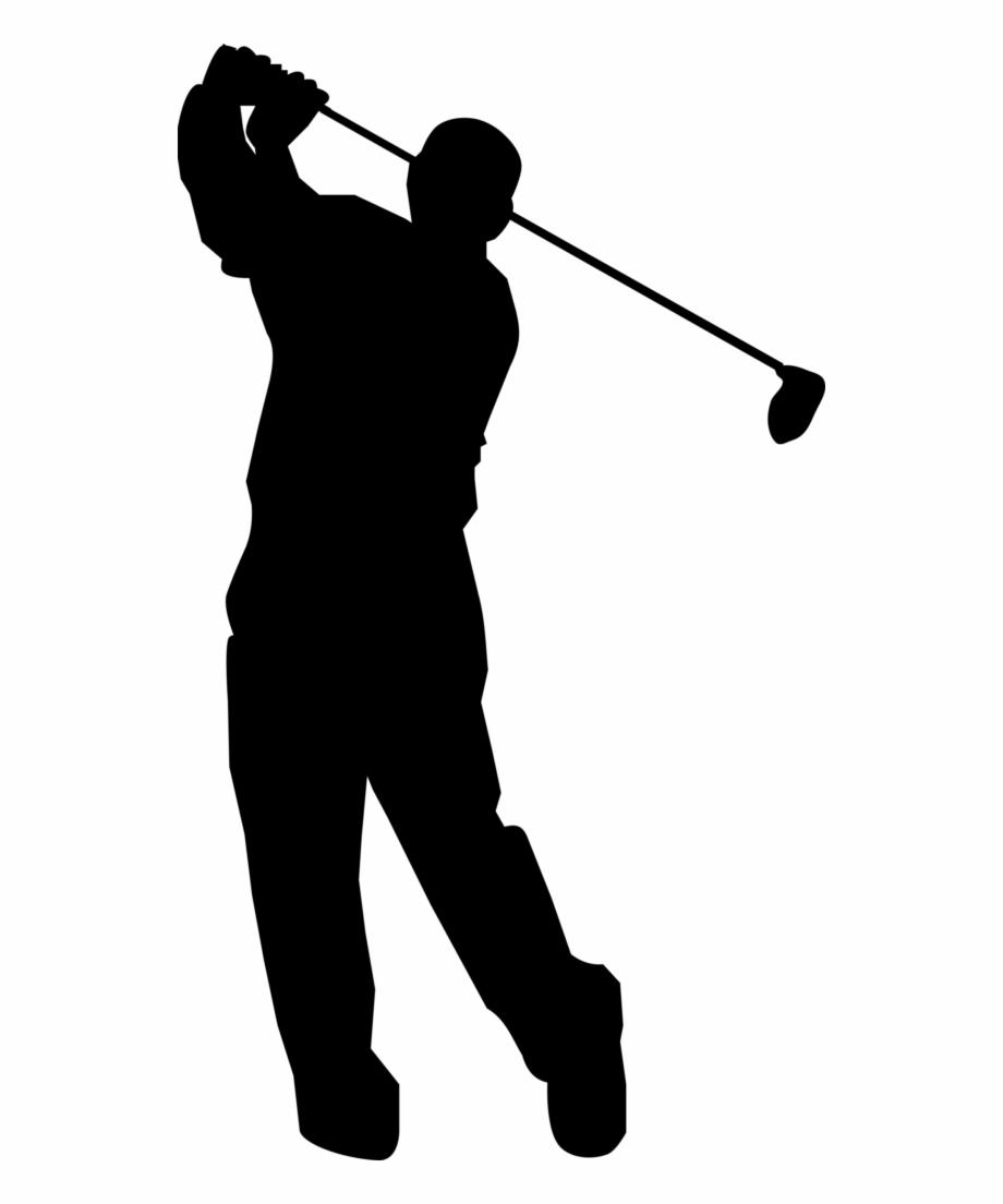 Golf ball club clip. Golfer clipart