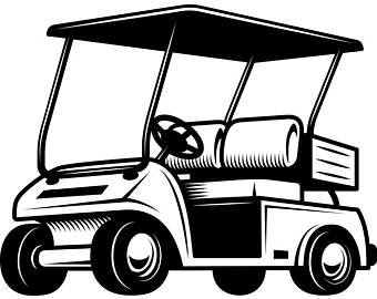 Golfer clipart golf buggy. Cart free download best