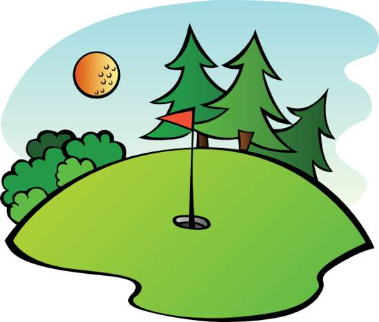 Golfer clipart golf green. Free golfing cliparts download