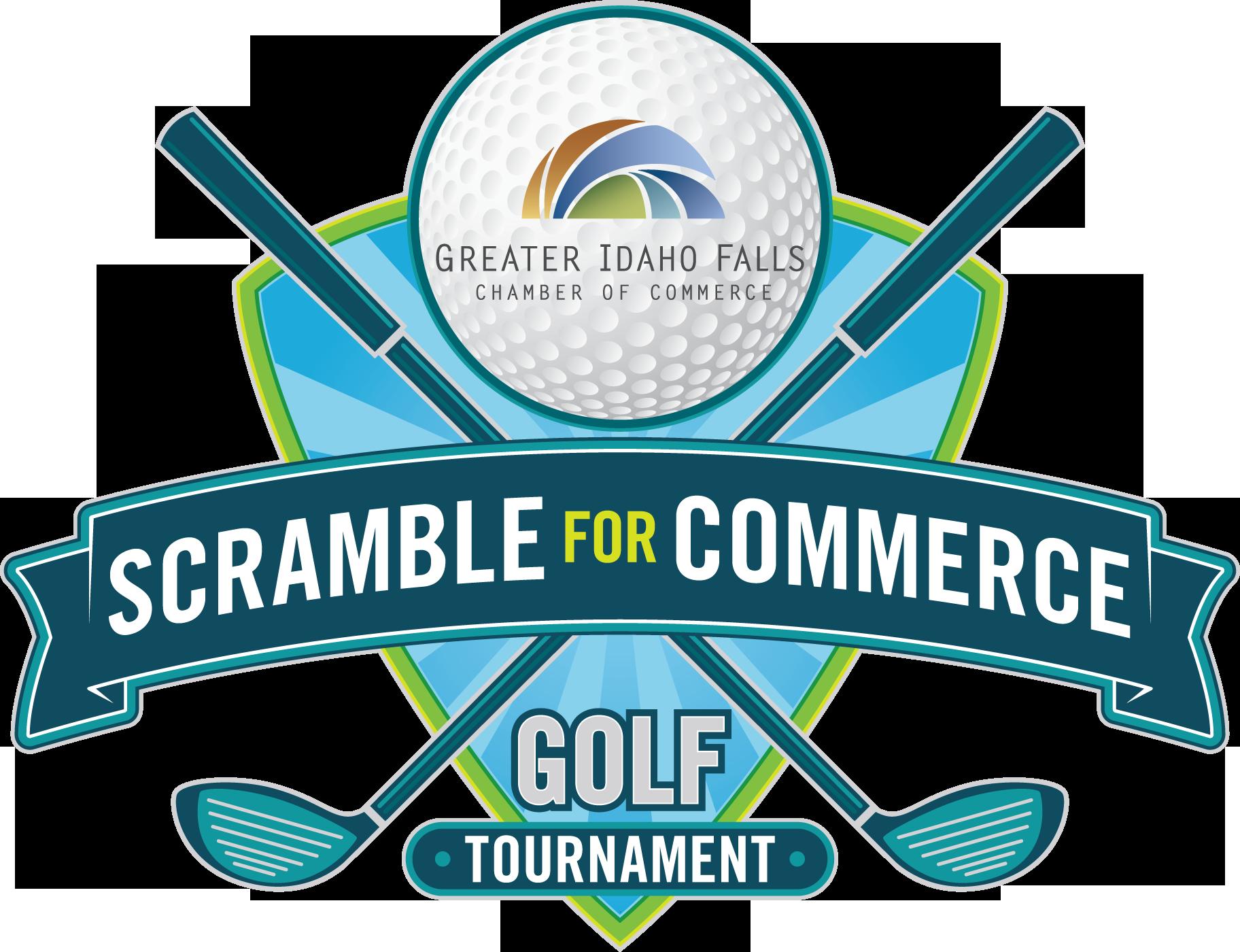 Golfer clipart golf scramble. For commerce tournament active